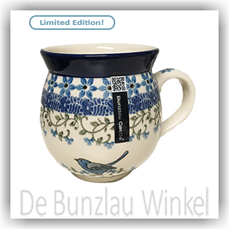 Bunzlau Bolle Mok 300ml (1070) - Vine Bird (1932)
