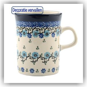Bunzlau Rechte beker 250ml (1074) - Royal Blue (1982)