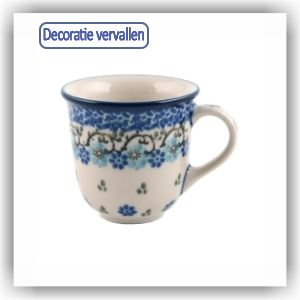 Bunzlau Tulp espresso beker 70ml (1377) - Royal Blue (1982)