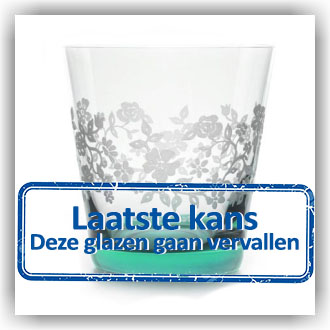 Bunzlau Waterglas - Summer Breeze groen 300ml (5105)