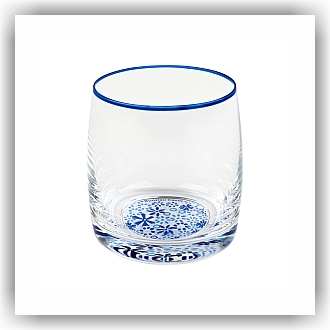 Bunzlau Waterglas 6x - Marrakesh groen 300ml (5108)
